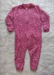 Título do anúncio: Pijama Macacão Inverno Menina Usado
