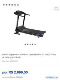 Título do anúncio: Esteira ergométrica Dream runfit 2.1