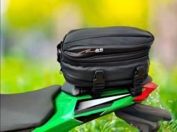 Título do anúncio: Mala Alforge Expansivo de Garupa + Capa Impermeável Bag universal para motos - Motobegikk