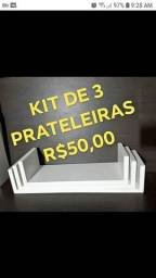 Título do anúncio: PRATELEIRAS MDF