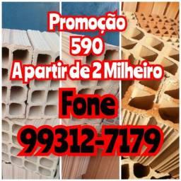 Título do anúncio: Queima de estoque Tijolo Padrão 590 reais