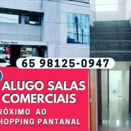 Salas Comerciais Próximo ao Shopping Pantanal