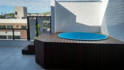 Cobertura em Ipatinga, 215 m², 2 vgs, 4 quartos/2 suites máster, elevador