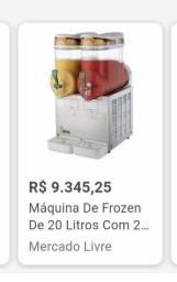 Máquina de Frozen 20 litros . Preço de ocasião . Aproveite