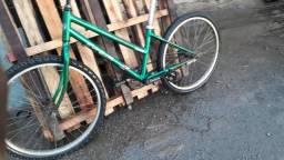 Bicicleta freio de pé