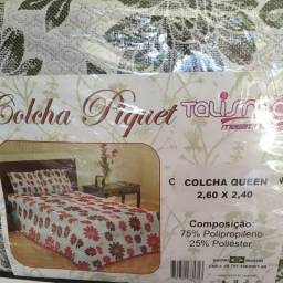 Colcha Piquet Rústica Queen 3 Peças Lançamento!!!
