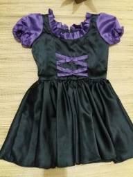 Vestido bruxinha