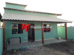 MF2922 - Casa para venda com laje e estrutura p/ 2° andar em Unamar