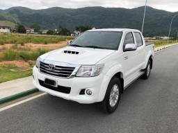 Hilux SRV 3.0 4x4 diesel ano 2013, Aceito troca, igual a 0km - 2013