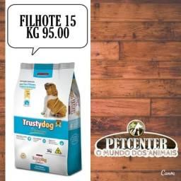 Trusty filhote linha premium especial 15 kg