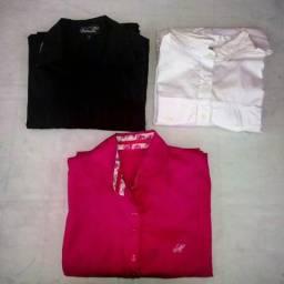 Promoção 3 camisas sociais femininas lote