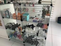 Balcão de vidro pra loja