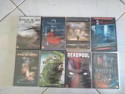 31 DVDs + um Blu Ray