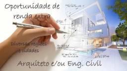 Renda Extra Arquiteto/Eng. Civil
