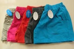 Shorts e bermudão tarquinado algodão cru 100% algodão