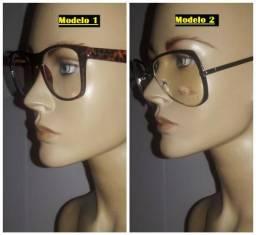 2 Óculos Receituários Novos Excelentes