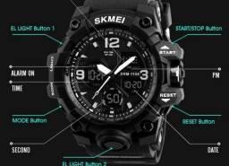 Relógio Skmei 1155 -esportivo Digital Led - Preto