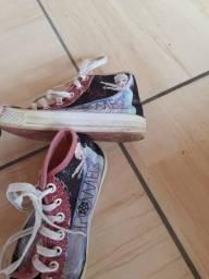 Tênis e sapatos