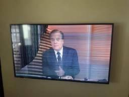 Tv samsung 55 polegadas 4k com a tela trincada mas esta funcionado