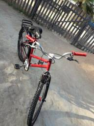 Bicicleta média aro24. 991723979