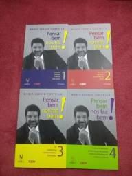 Box Mario Sergio Cortella 4 livros *novos