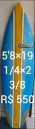 Prancha de surf 5'8×19 1/4×2 3/8