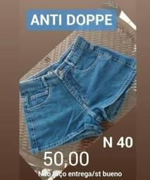 Shorts jeans cos alto Anti Doppe n 38 e 40 novos originais 50,00 cada