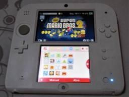 Nintendo 2DS semi-novo com New S. Mario Bros. 2