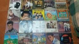 Antigos discos de vinil