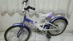 Bicicleta aro 20 soul flora muito nova !!!