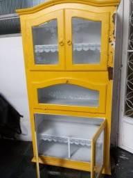 Cristaleira vintage comprar usado  Rio de Janeiro