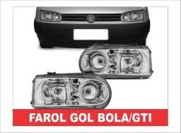 Farol Foco Duplo Gol Bola GTI! comprar usado  Campo Grande