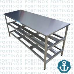 Bancada inox industrial Portinox
