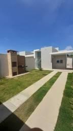 Residencial Planalto do Sol - Casa com 2 quartos e 2 vagas, 68m² - Centro - Aquiraz-CE