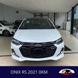 GM Onix RS 2021 0KM Aceito trocas e financio