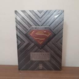 Livro Superman - Os Arquivos Secretos do Homem de Aço - Capa Dura - Grande