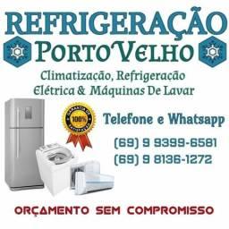 Consertos em geladeiras, Frezzer, Balcões, Centrais De ar