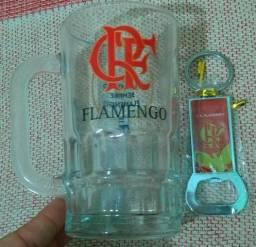 Caneca e abridor do Flamengo Oficial