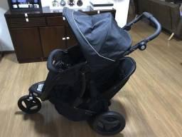 Carrinho de bebê duplo trekko duo sport luxe - Graco
