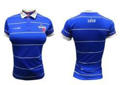 Camiseta Fortaleza Escudetto Feminina 2020.10-03 BL