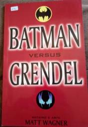 Quadrinho Hq Batman Vs Grendel