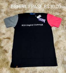 Camisas com frase RCR Clothing
