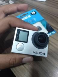 Gopro Hero 4 Black Cartão de 16gb