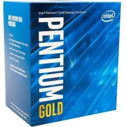 Processador Intel Core Pentium Gold G5400 3.7 GHz 4MB Cache - LGA1151