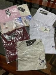 Camisetas  e bonés no atacado