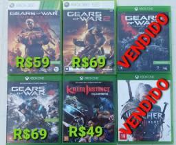 Jogos Xbox 360 e One Aceito PiX e Cartao