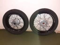 Aros pneus motard bros