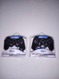 2 controles de Playstation 2 para computador