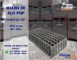 Malha Pop - 3,4mm 20x20