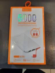 Carregador portátil power banco kaidi 5000 original